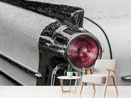 Photo Wallpaper Oldtimer tail light