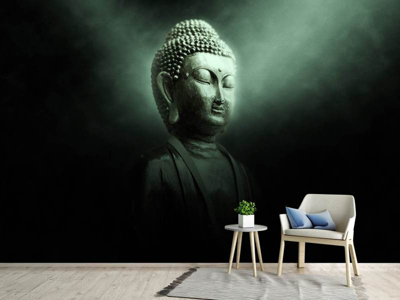 Photo Wallpaper Buddha in mystical light