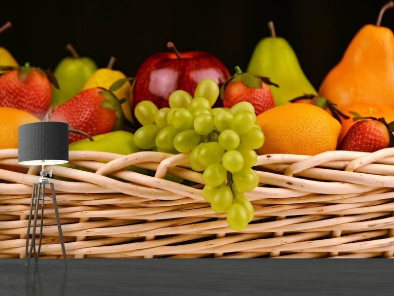 Fototapet XL fruit basket