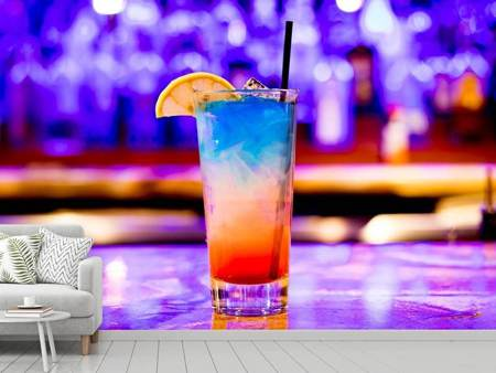 Photo Wallpaper Colorful cocktail