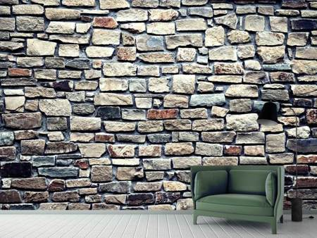 Photo Wallpaper Stone wall art