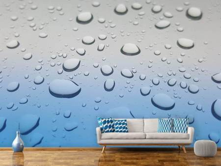Photo Wallpaper Raindrop in XXL