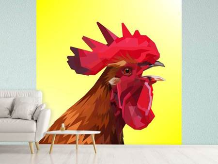 Fotobehang The rooster