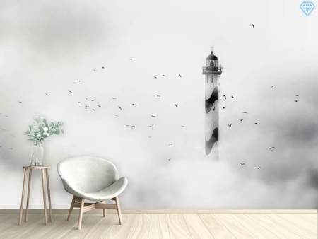 Photo Wallpaper The Fog