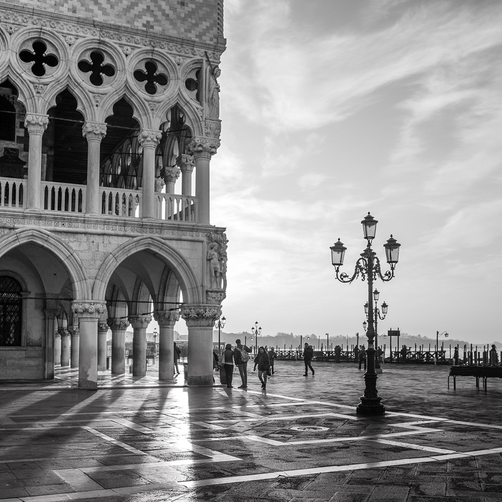 Fototapete Early Morning - Venice