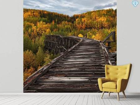 Photo Wallpaper Bridge To Nowhere