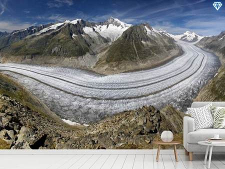 Photo Wallpaper Aletschgletscher