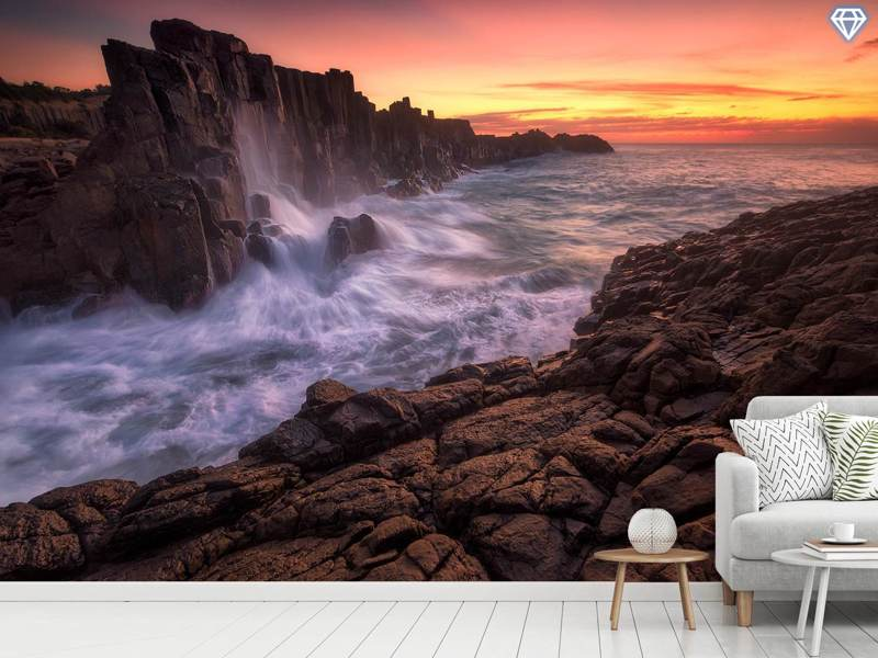 Photo Wallpaper Wall By The Sea