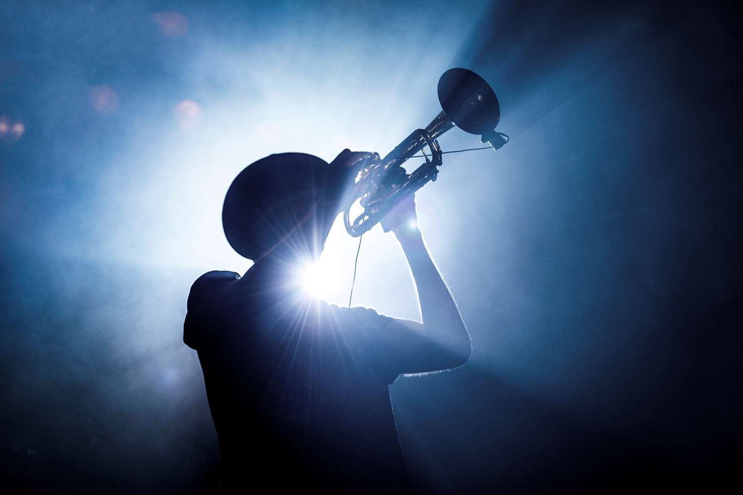 Photo Wallpaper Trumpet Player | Order