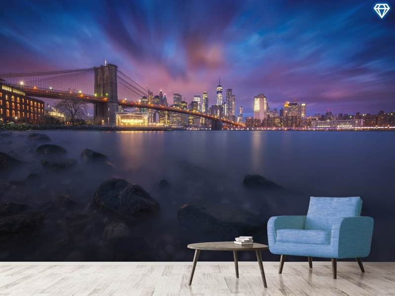 Photo Wallpaper Brooklyn Dusk
