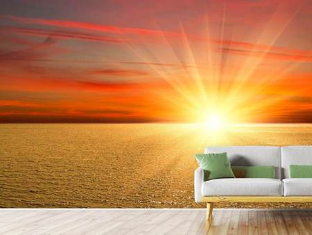 Photo Wallpaper The Sunset