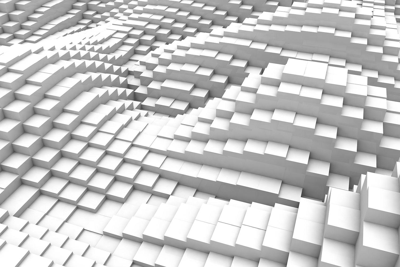 Fototapete 3D-Elemente