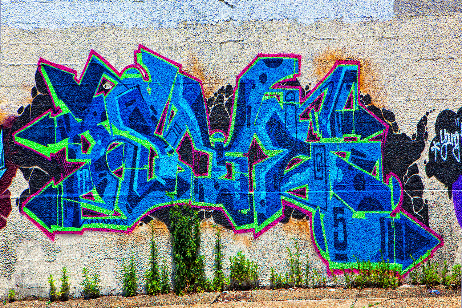 Fototapete Graffiti NYC