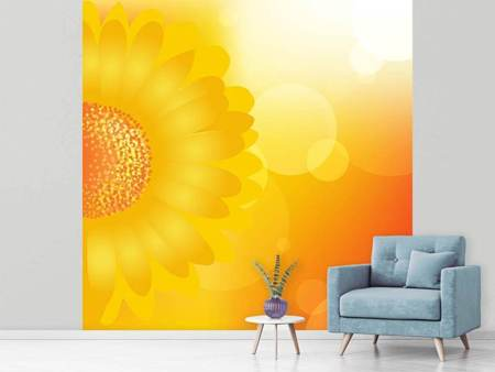 Photo Wallpaper Sunflower Power