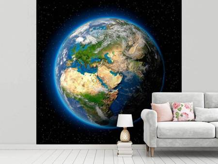 Fotobehang The Earth As A Planet