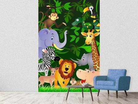 Photo Wallpaper Jungle Safari