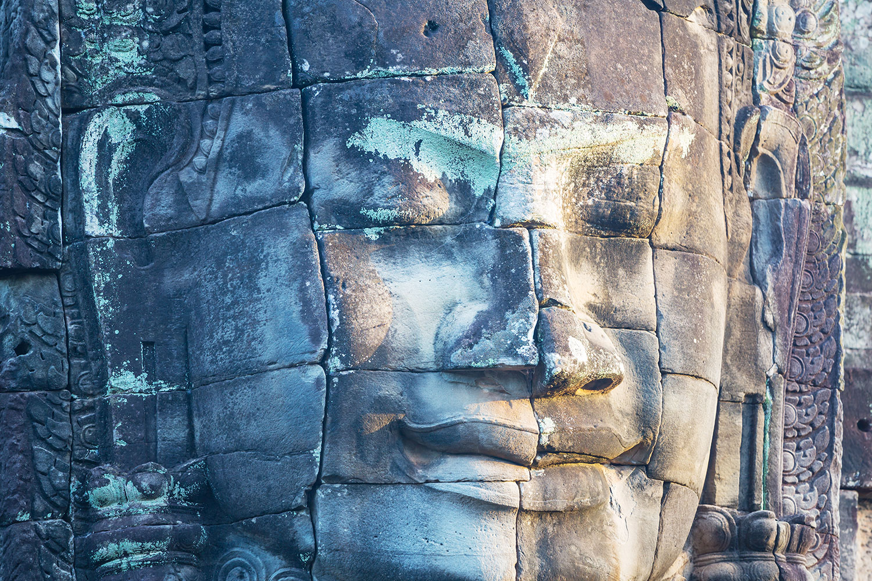 Fototapete Buddha Statur