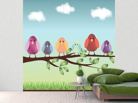 Photo Wallpaper All Birds Are Already There