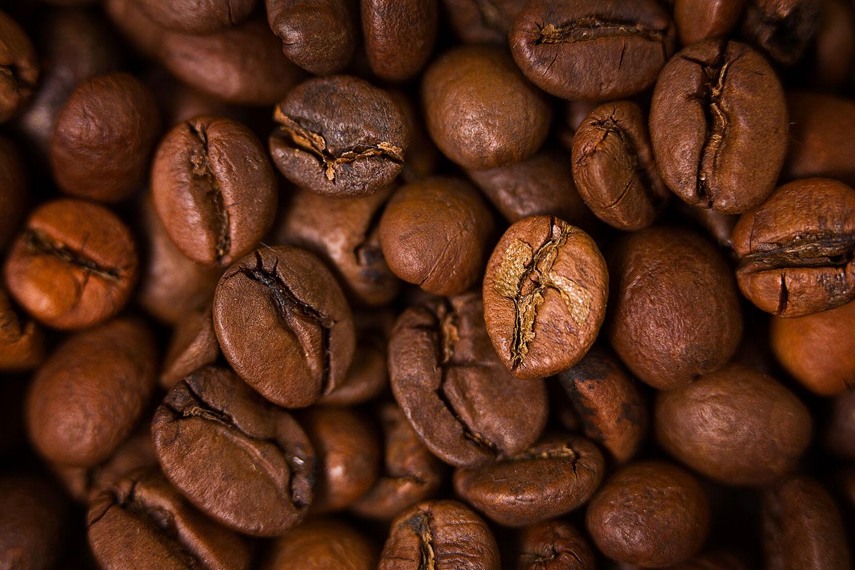 Fototapete Close Up Kaffeebohnen