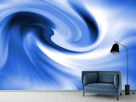 Fototapet Abstract Blue Wave