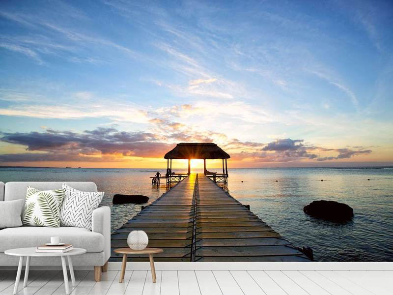 Photo Wallpaper Romance In Mauritius