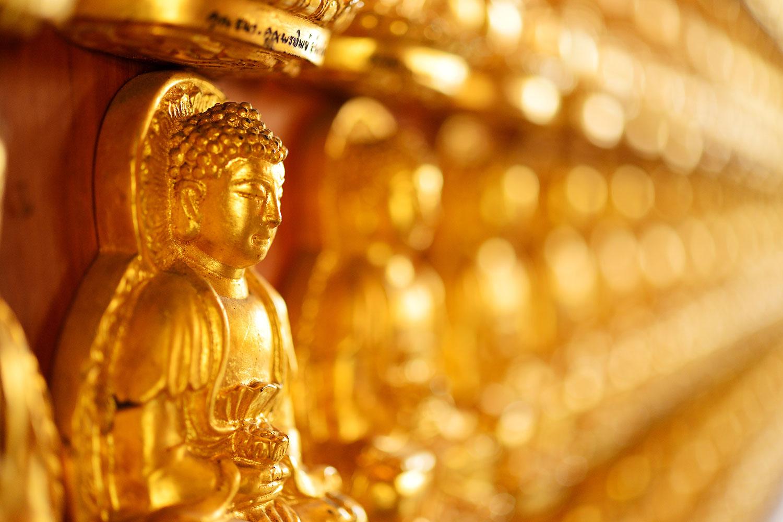 Fototapete Buddhas