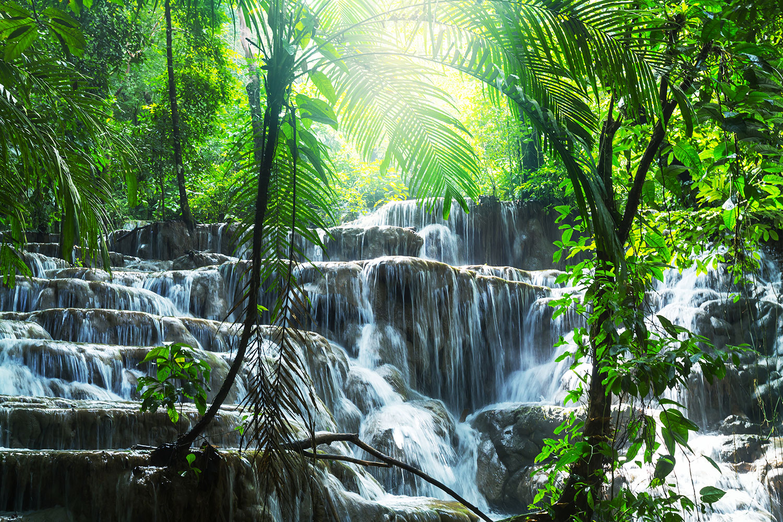 Fototapete Wasserfall Agua Azul