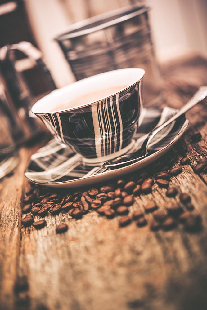Fototapete Die Tasse Kaffee