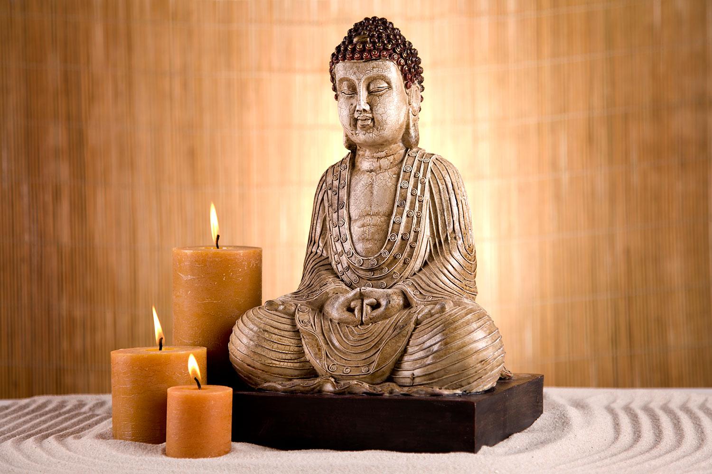 Fototapete Buddha in der Meditation