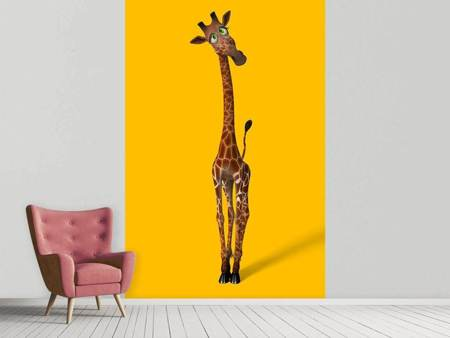 Photo Wallpaper Sweety Giraffes