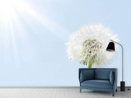 Photo Wallpaper Dandelion In Sunbeam
