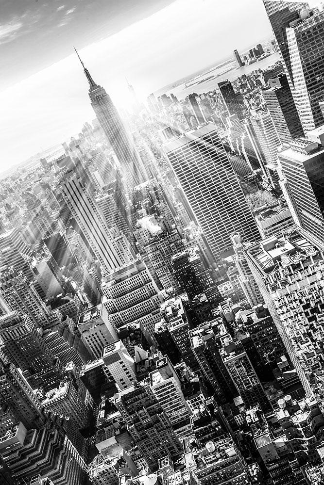 Fototapete Wolkenkratzer New York