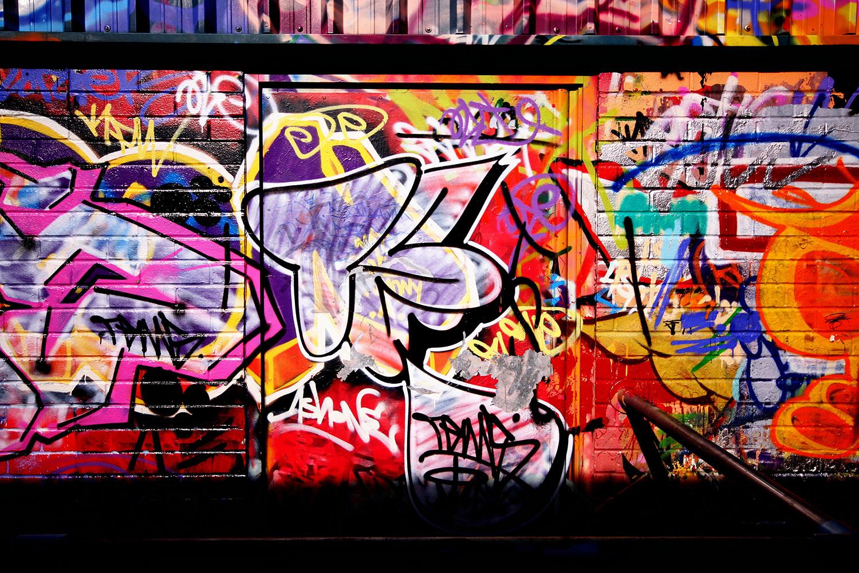 Fototapete Graffiti Kunst