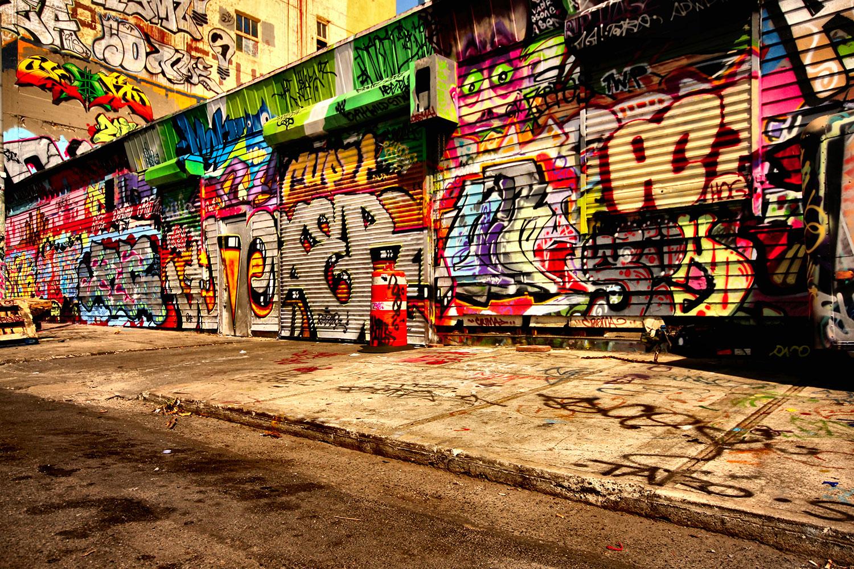 Fototapete NY Graffiti