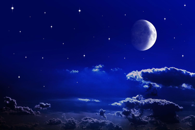 Fototapete Der Nachthimmel